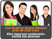 ecole en langue basque