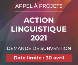 action linguistique 2021